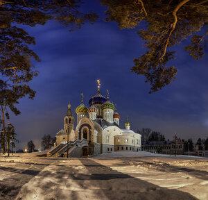 Зима в Переделкино