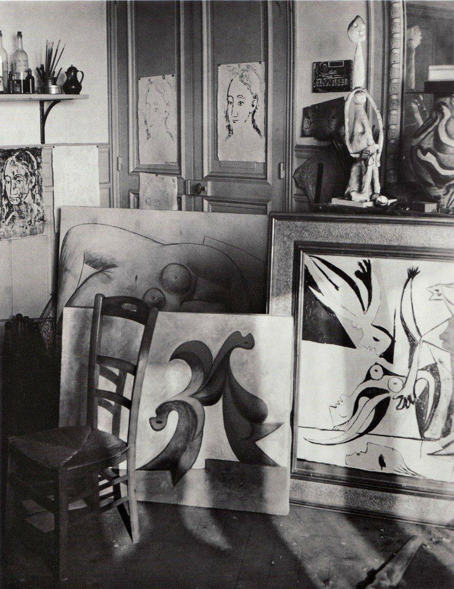 1939. Мастерская Пикассо на улице Великих Агустинцев