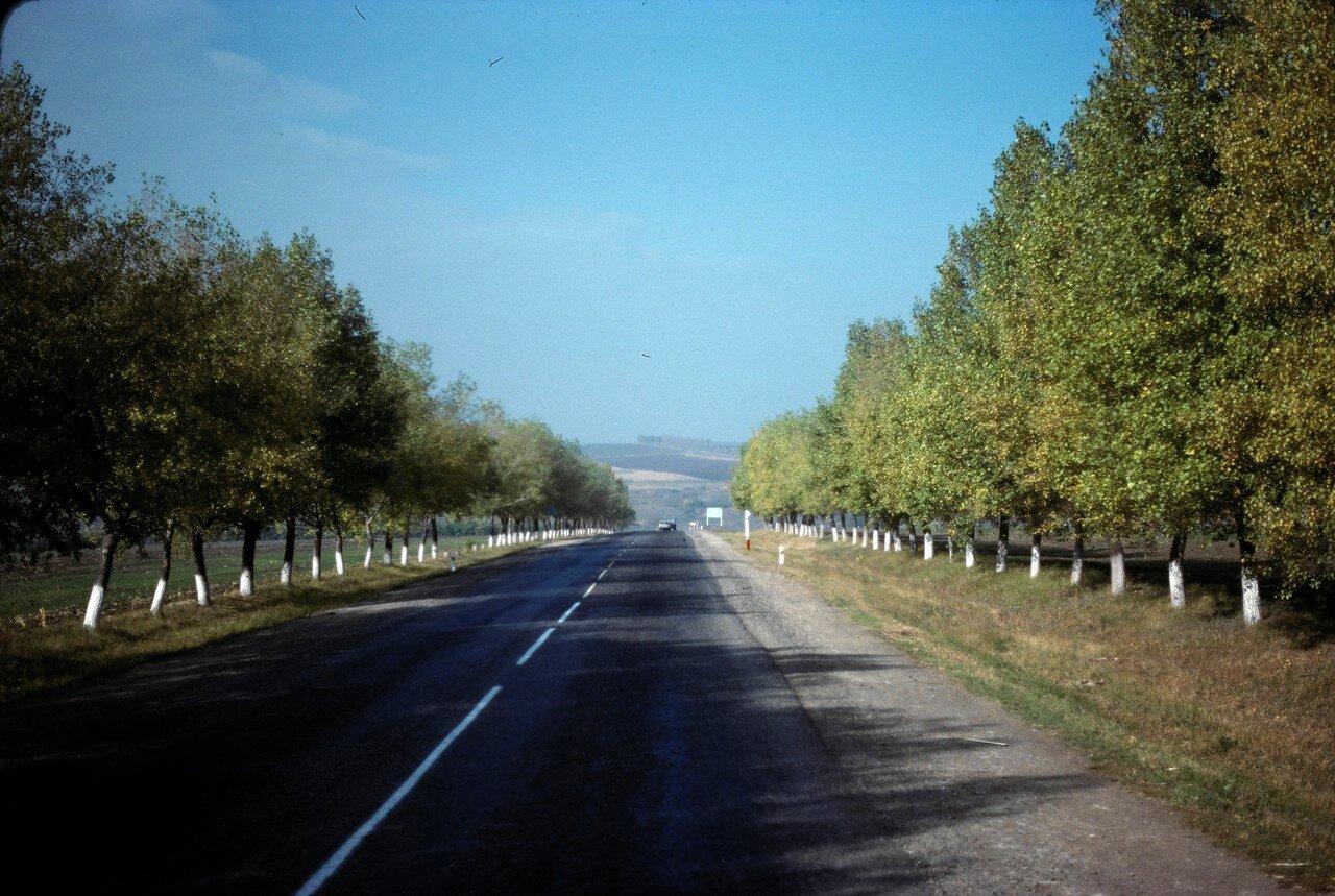 Типичное шоссе к югу от Ростова-наДону