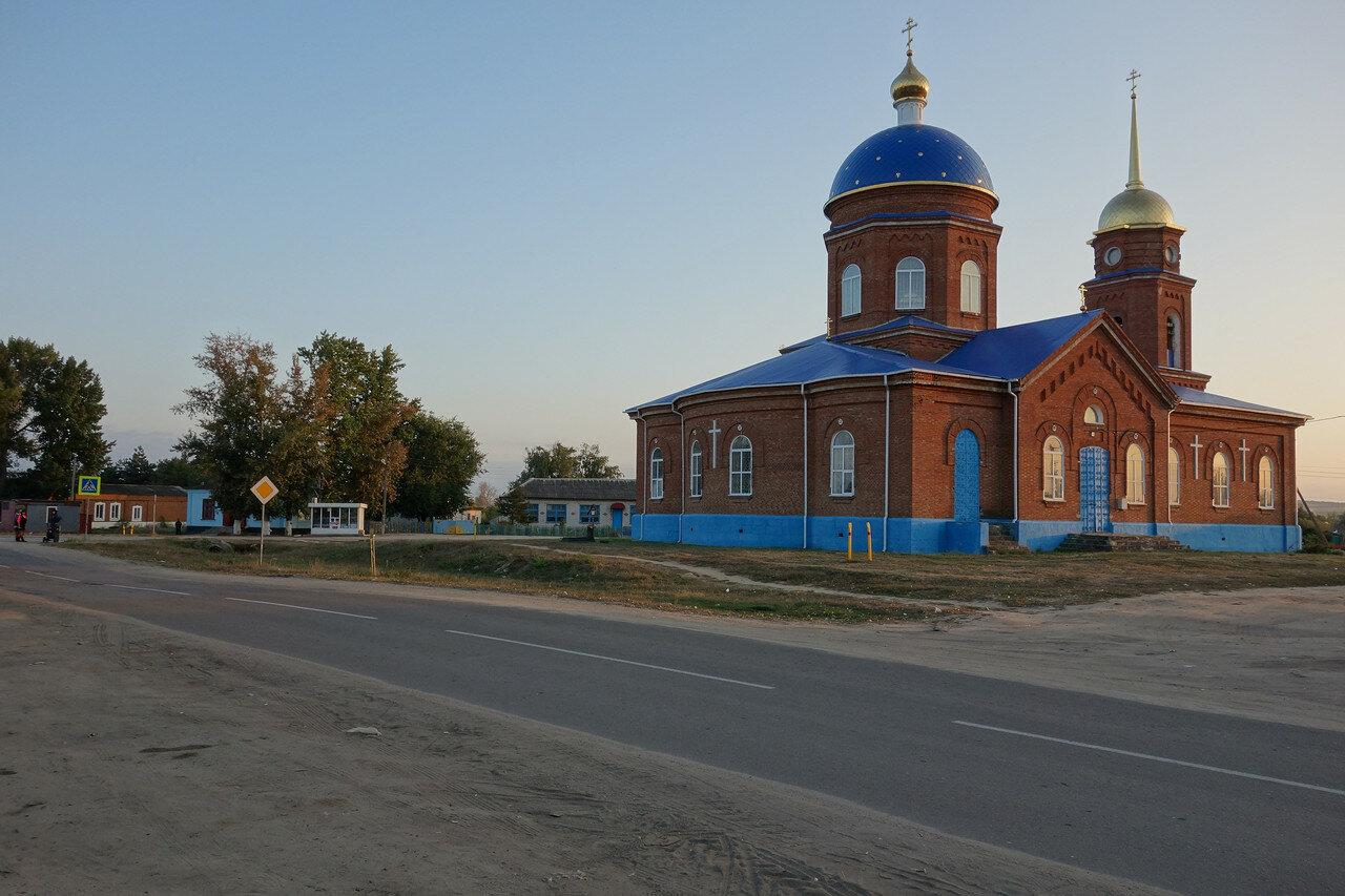 храм в селе Шептуховка