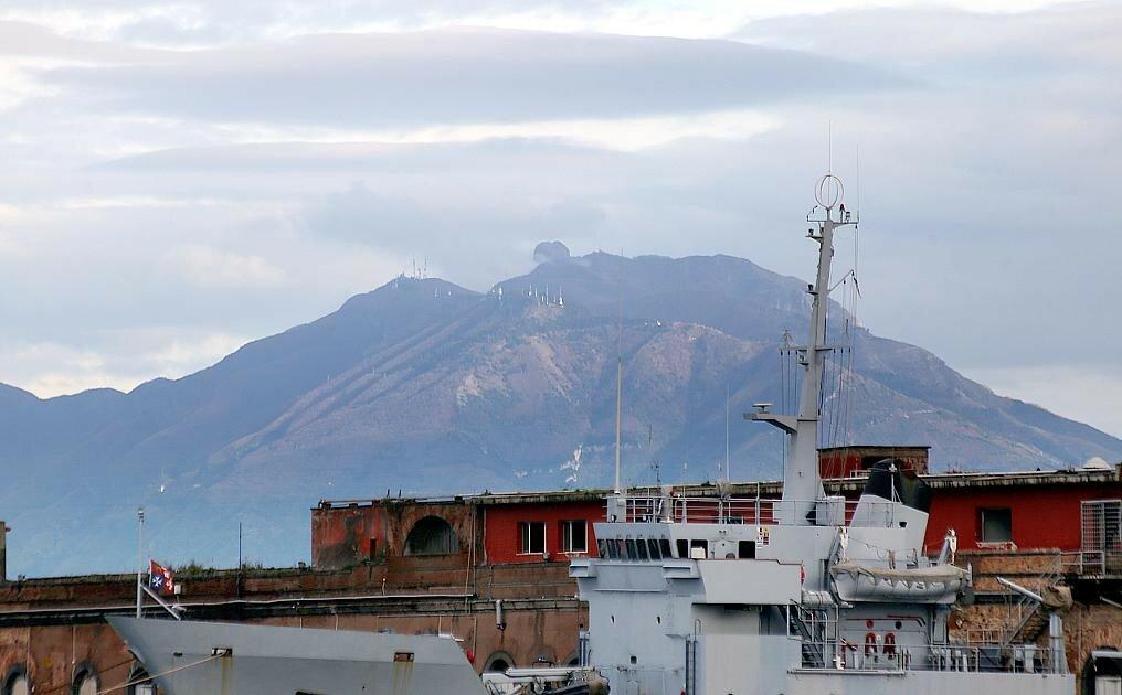 Naples. Passenger port (Stazione Maritima)