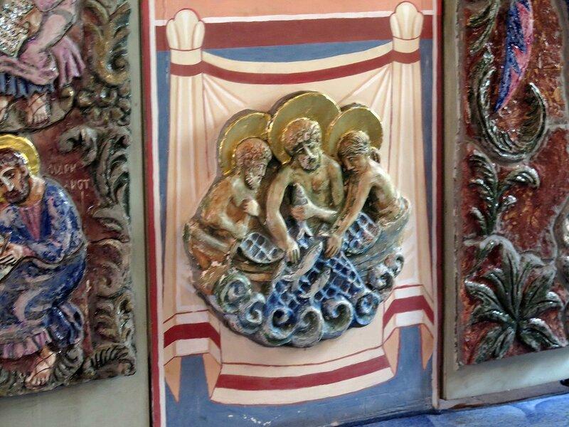 Толгской иконы Божией Матери храм Высокопетровского монастыря. Москва.