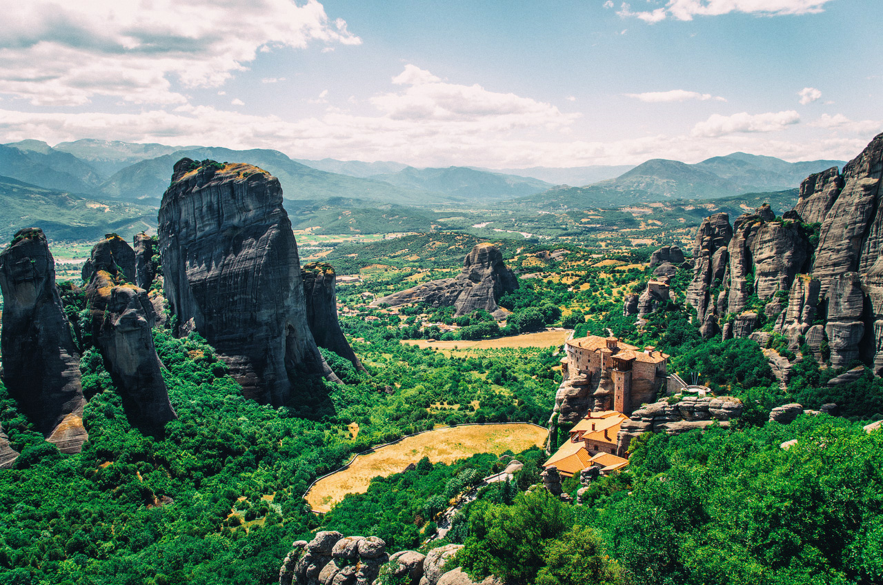 Монастырь Святого Николая Анапавсаса, Метеоры, Греция