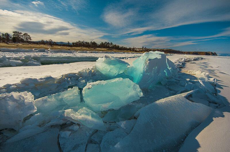 Лёд у берега