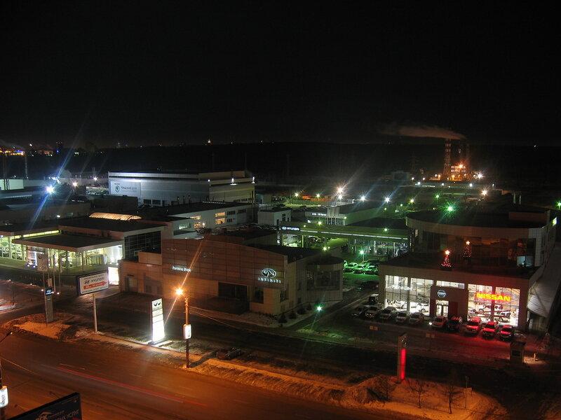 Бр.Кашириных ночью (08-01-2012)