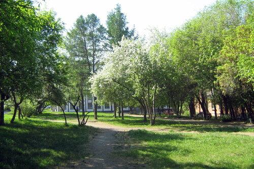 Сквер наулице Кудрявцева