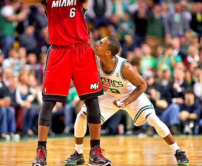 спортивный год 2011 - Раджон Рондо против ЛеБрона Джеймса, Boston Celtics против Miami Heat