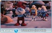 Смурфики. Рождественнский гимн / The Smurfs A Christmas Carol (2011) DVDRip