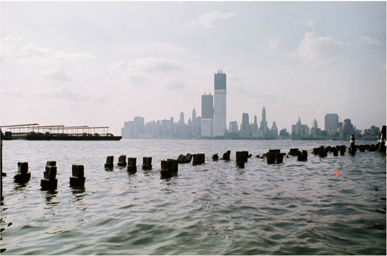 Нижний Манхэттен из Джерси.