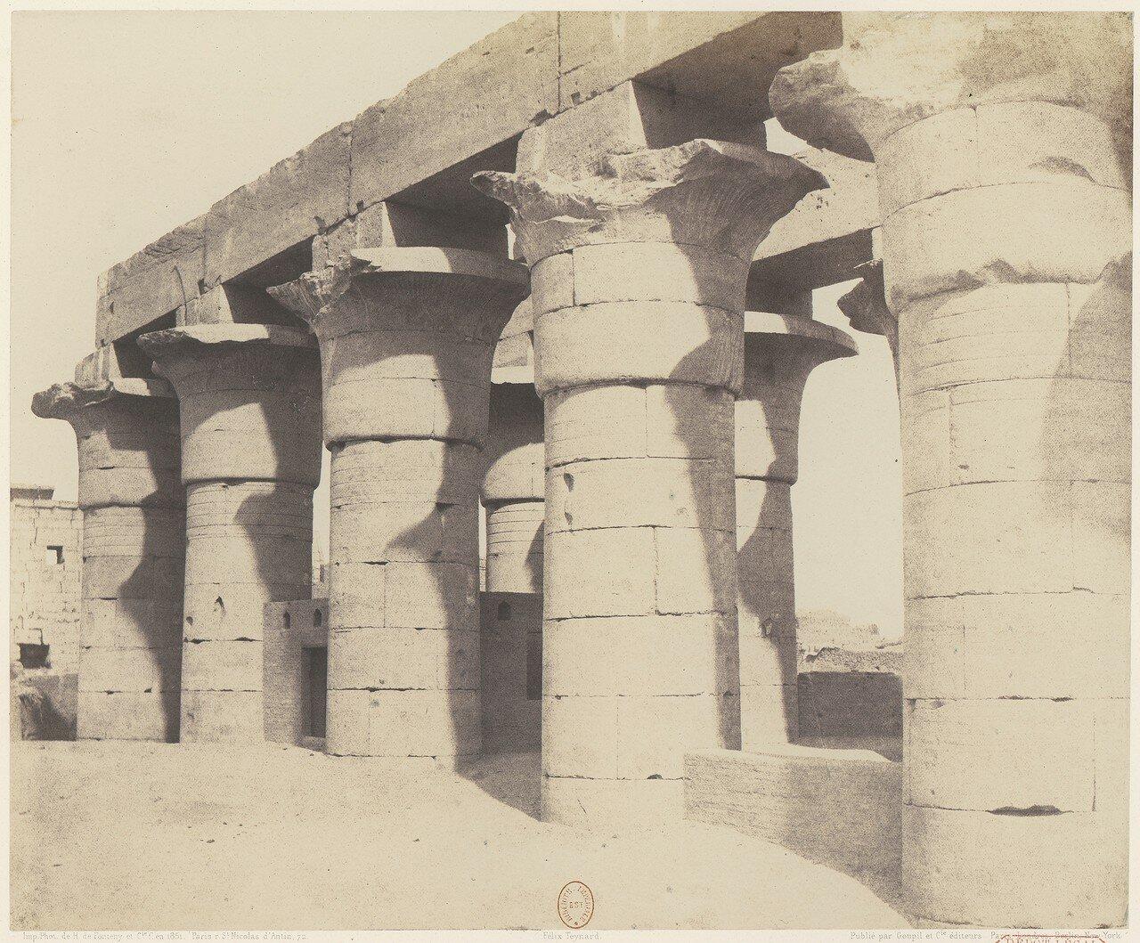 Луксор. Большая колоннада