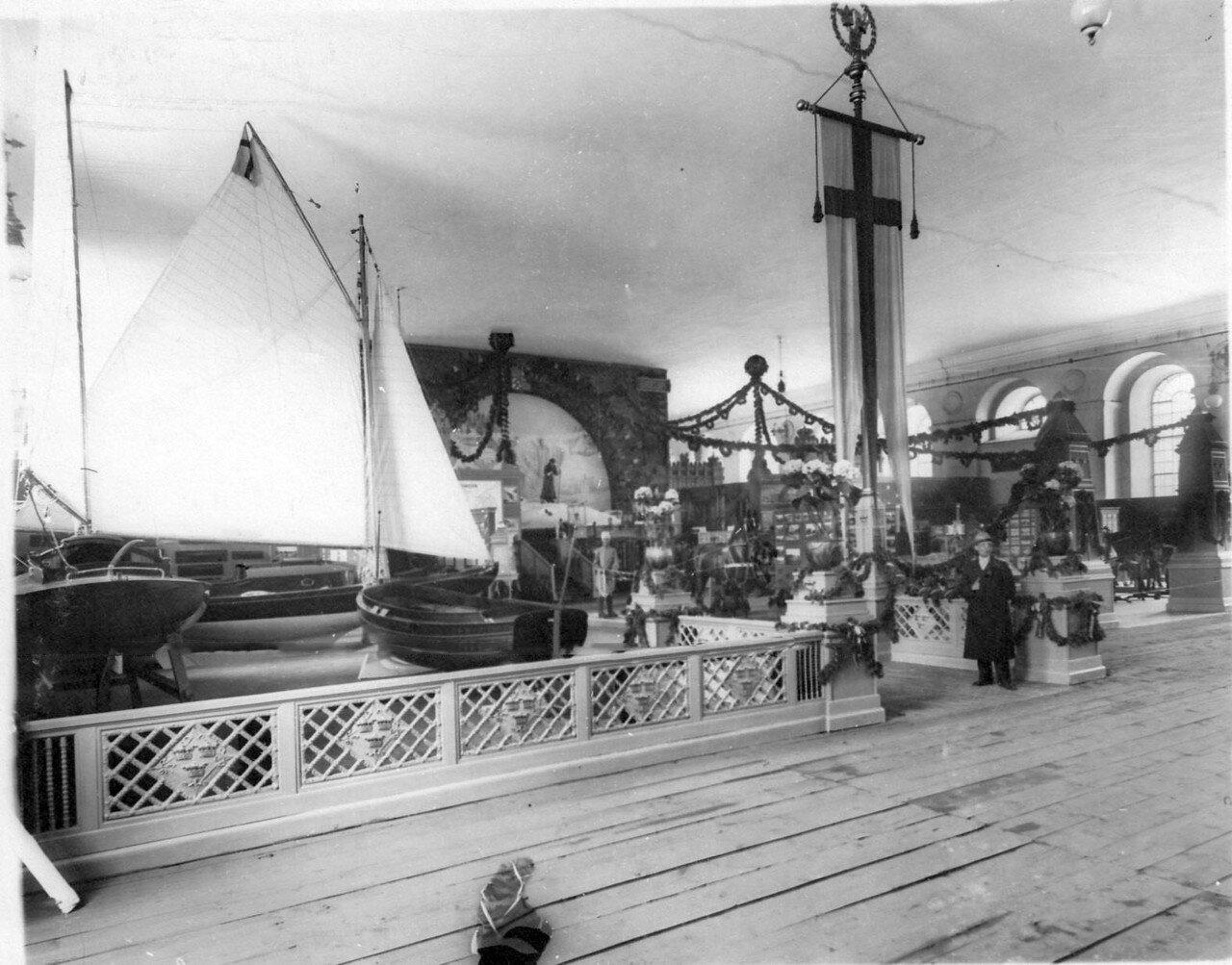27. Модели парусных лодок Шведского отдела