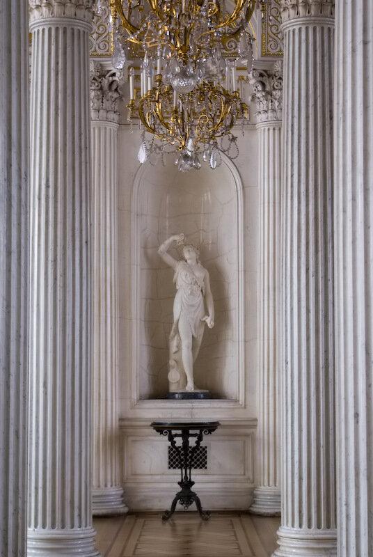 Дата публикации: 2009-08-30 13:34:16.  Павильонный зал Малого Эрмитажа был создан в середине XIX в. А.И...