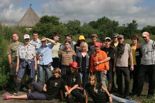 Наш отряд в Старой Ладоге