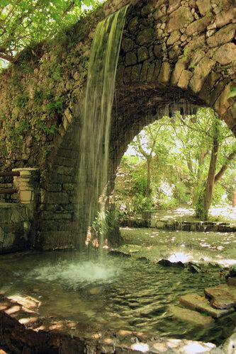 Крит, Аргируполи-водопады