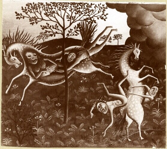 Hungerpferde (1919)