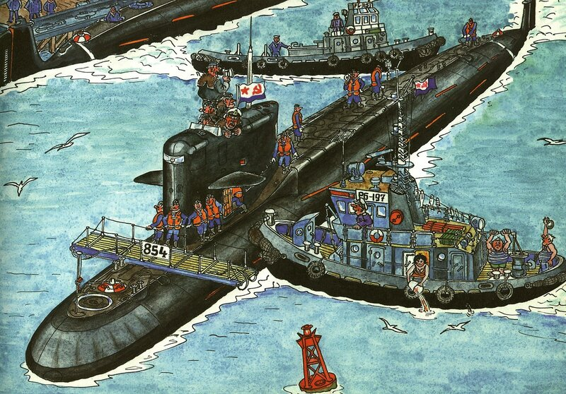 флот подводные лодки