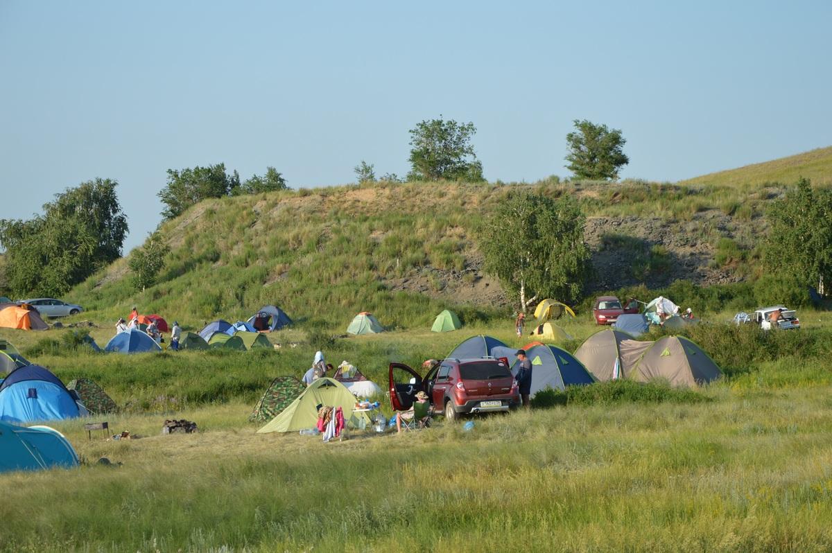 Лагерь наАркаиме