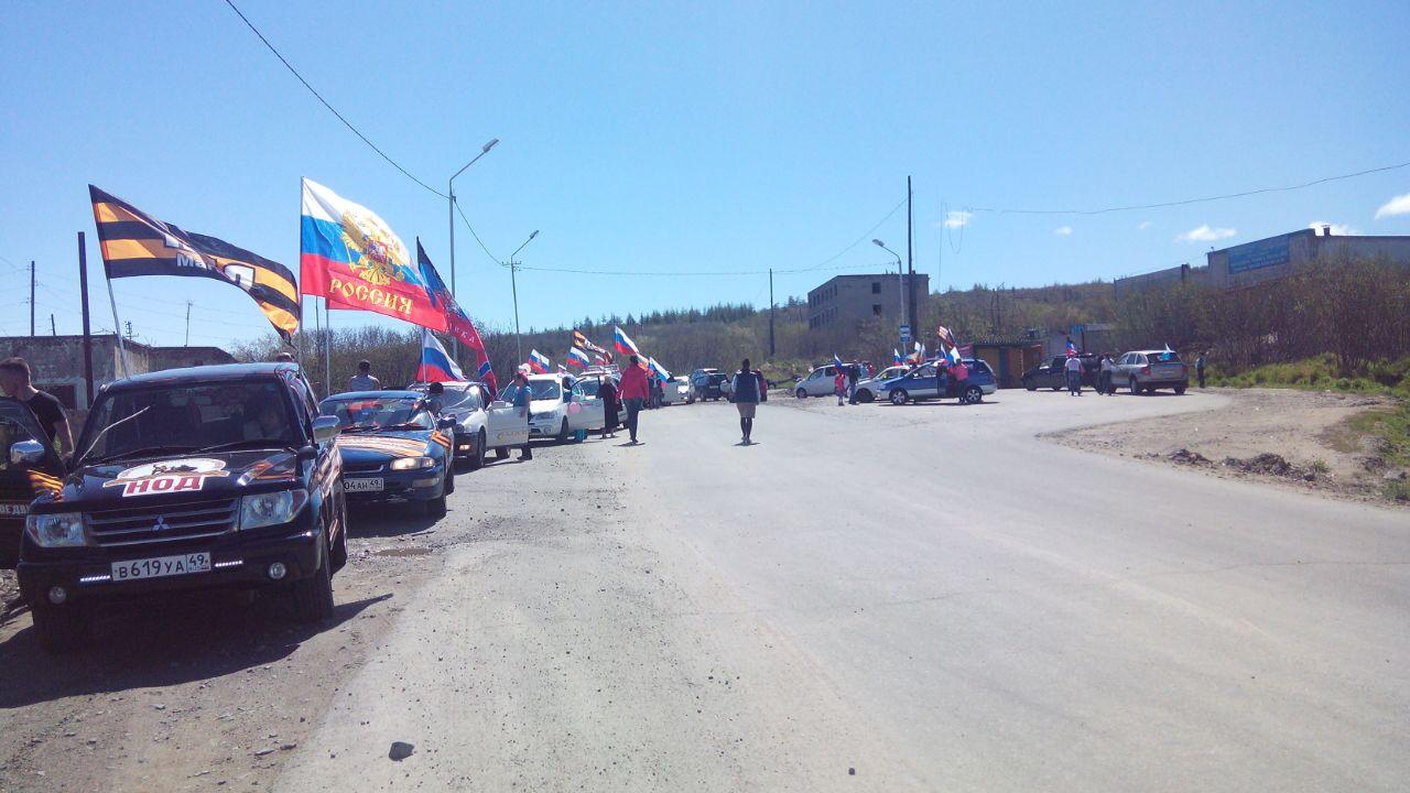 Автопробег Магадан-Палатка-Магадан 12 июня в День России