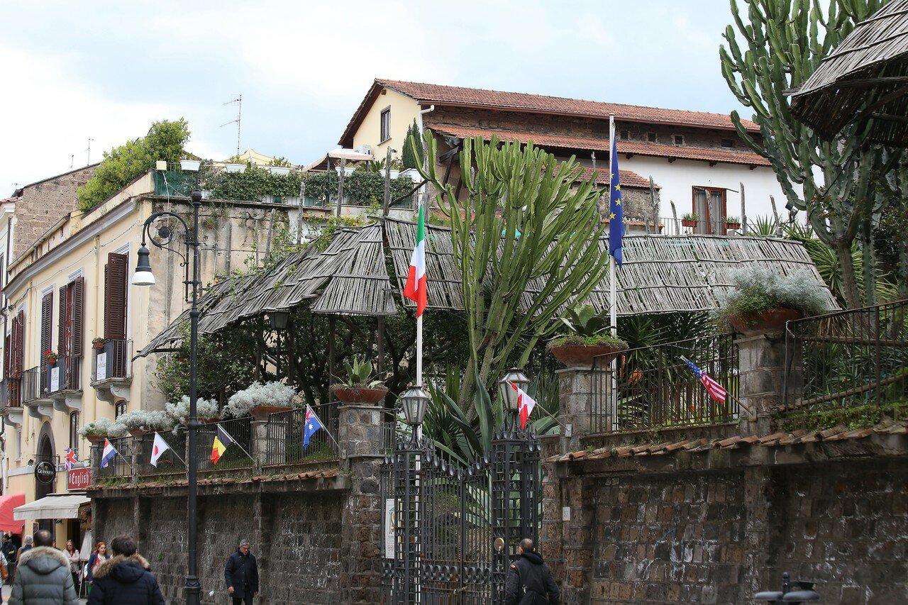 Сорренто. Вилла  Фиорентино (Villa Fiorentino)