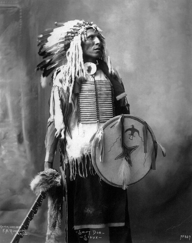 Swift Dog, Sioux (Lakota), 1898