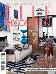 Elle Decoration South Africa - August-September 2015