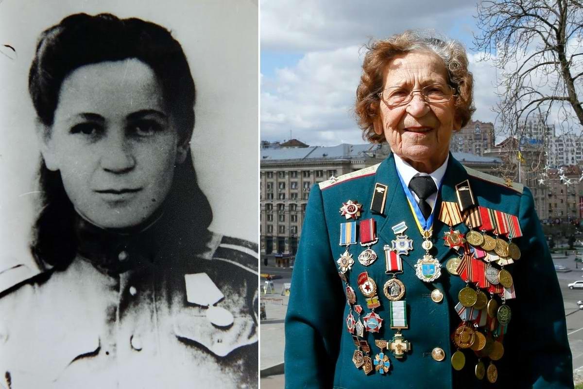 15 героев Великой Отечественной Войны из 15 республик Советского Союза - Валентина Кусинич, уроженка Украины, 94 года