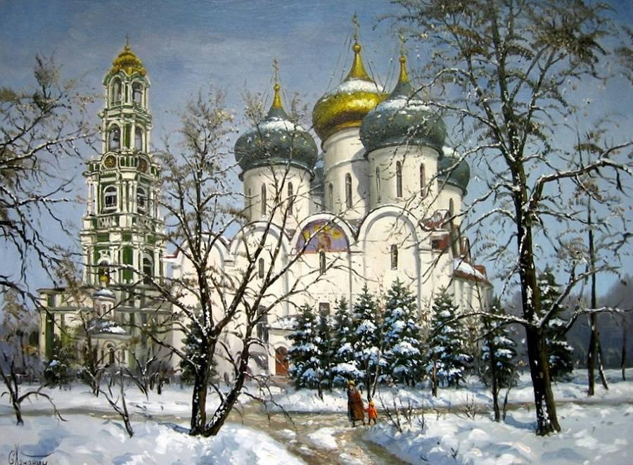 Троице-Сергиевский монастырь