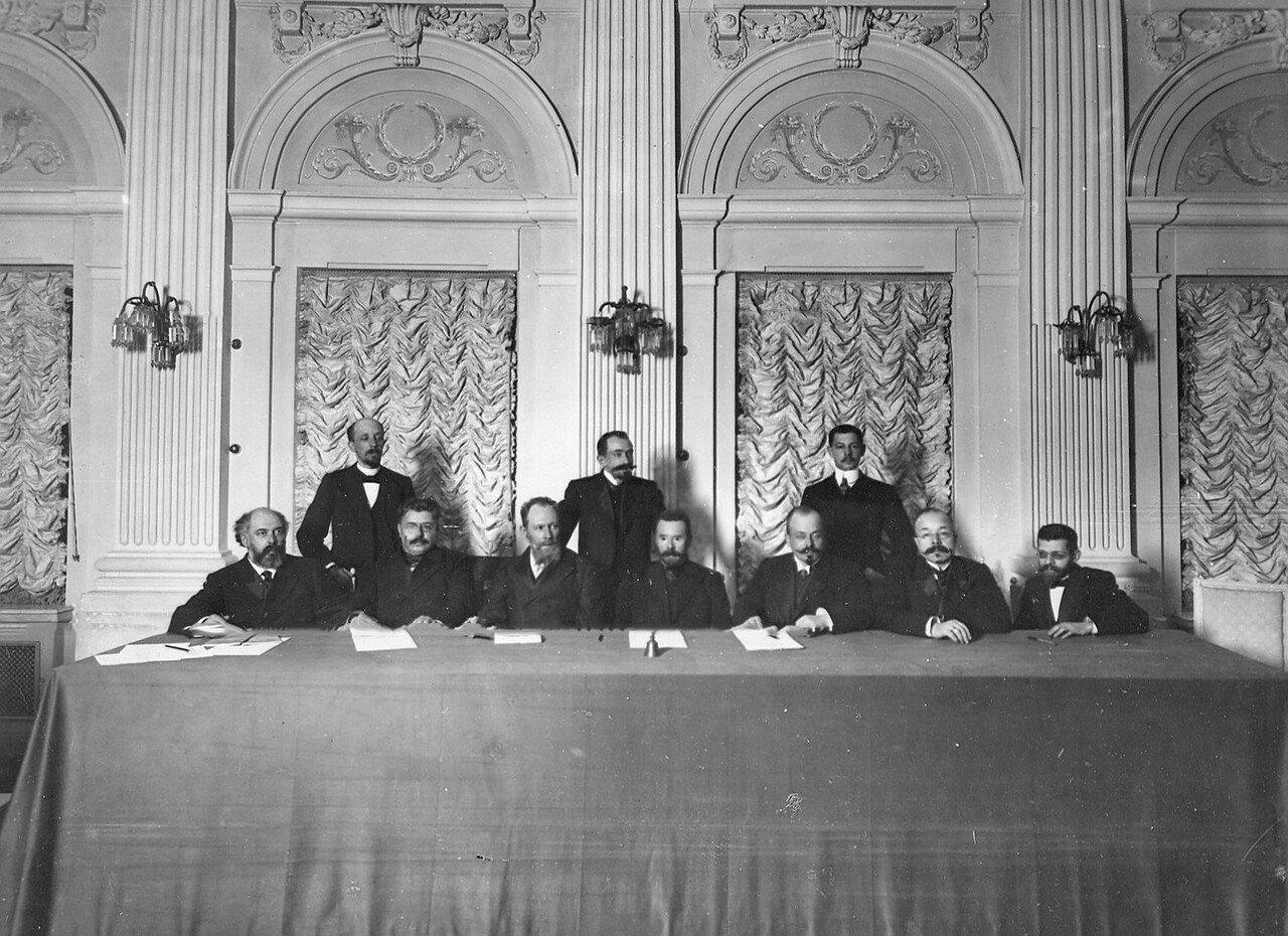 Президиум заседания Третьей Государственной думы