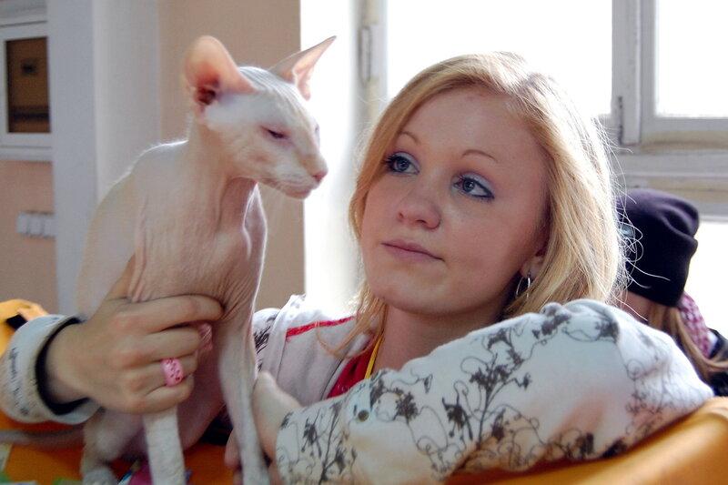 Международная выставка кошек «Замурчательная осень»