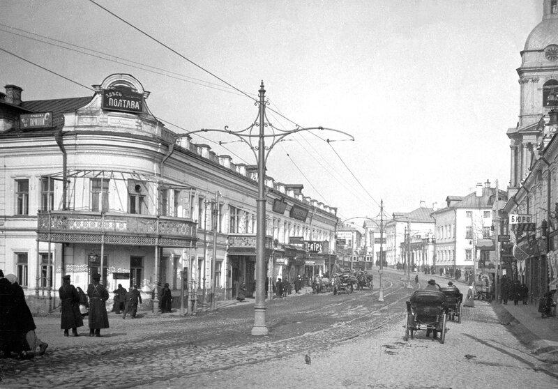 Перспектива Яузской улицы