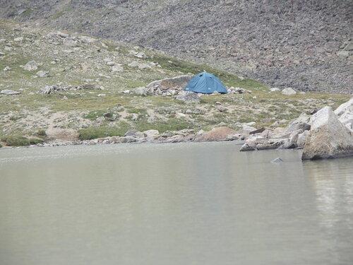 Одинокая палатка