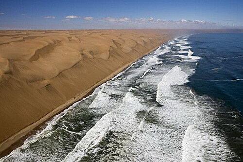 Берег скелетов. Намибия