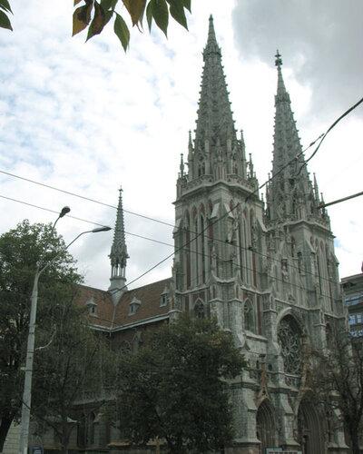Николаевский католический костел