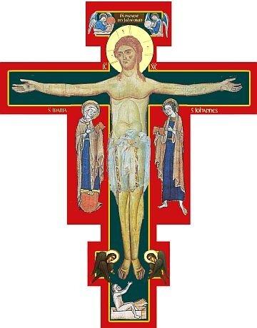 РАСПЯТИЕ Современная икона. Италия