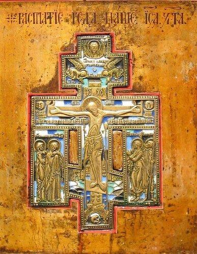 Фрагмент иконы. Россия. XIХ век.