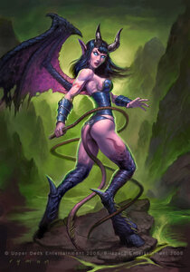 Warcraft Succubus by namesjames