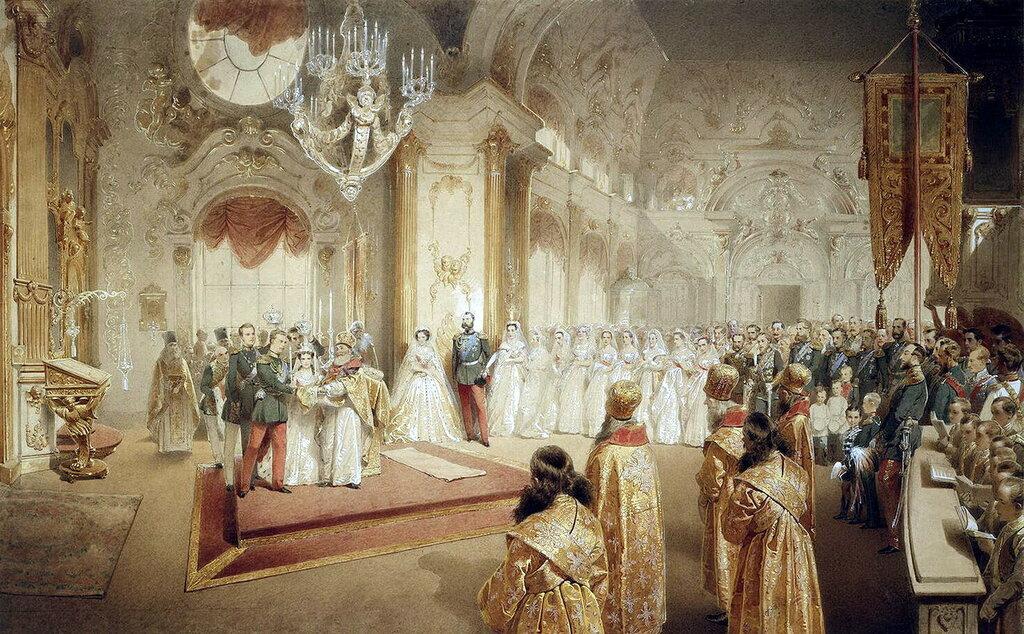 часть 5 Эрмитаж: Зичи, Михай - Свадьба великого князя Александра Александровича и великой княгини Марии Федоровны