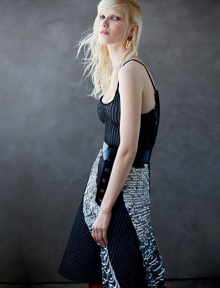 Юлия Терентий в журнале Elle Mexico
