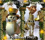 Xmas Time Gold №1