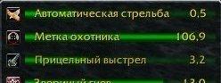 Kharthus's Hunter Timers (rus) 6.1.0