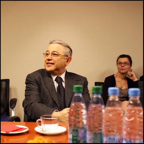 Встреча блоггеров с Петросяном