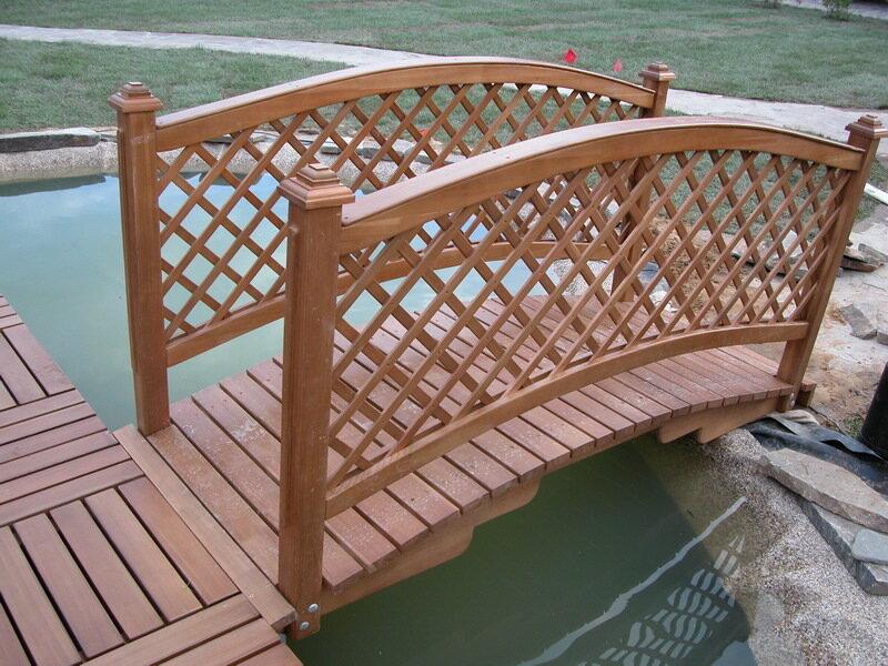 Деревянные мостики фото