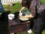 Приготовление плова на костре