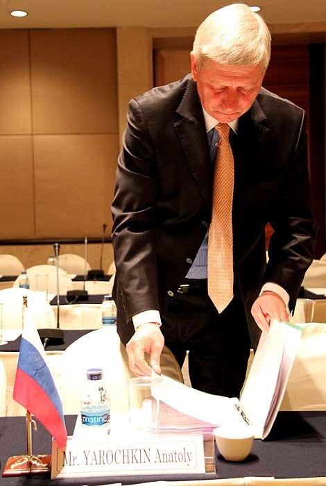 руководитель Федерального агентства по туризму Анатолий Ярочкин
