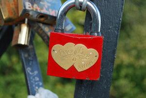 На мосту любви