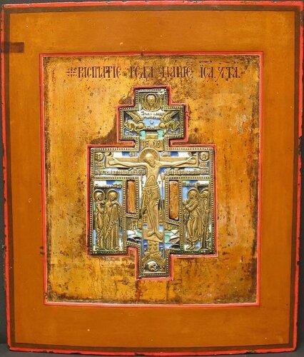 Stavroteka Россия. XIХ век. 31 x 26,2 x 2,3 cм.