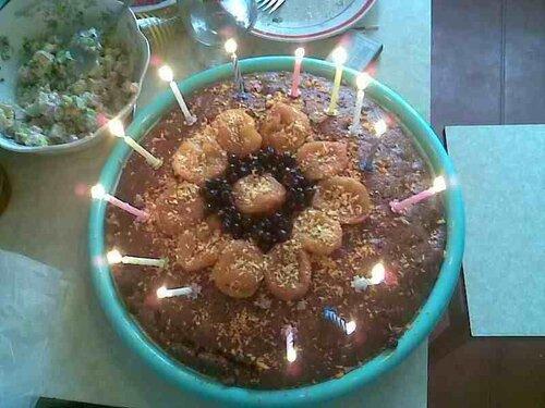 Рецепт торта из сухофруктов с орехами
