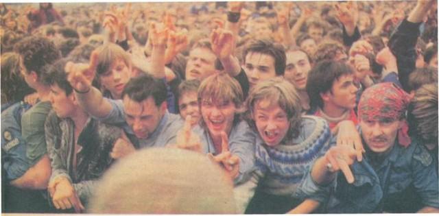 Фестиваль  «Монстры рока» в Тушино 1991