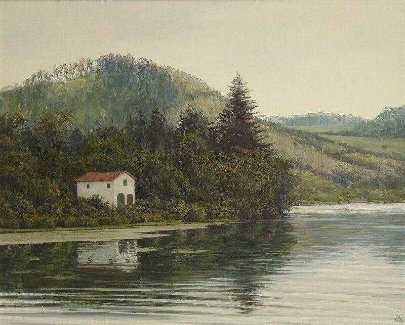 Олег Анастасов. Озеро Сете Сидадеш (Азоры).