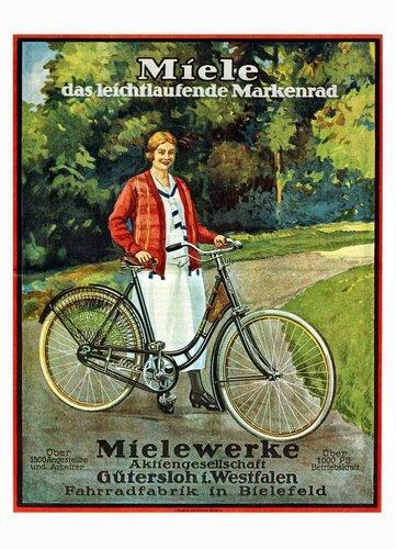 Постеры велосипедов Miele